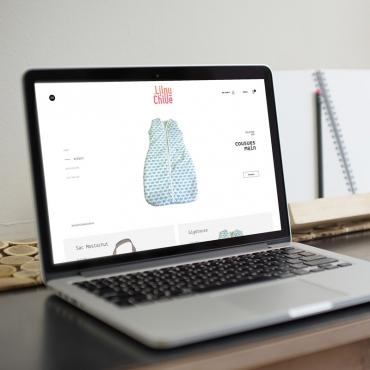 Lilou et Chloé - Site web boutique en ligne