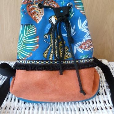 sac seau toucan